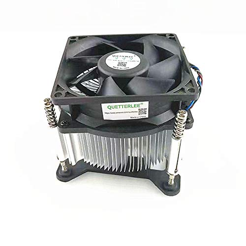 QUETTERLEE New for HP 4-Pin 644724-001 724801-001 644725-001 CPU Heatsink Fan Pro 3000 3010 3400 3405 3500 3515 3380 A6000 P7 H8 P7-1010 Envy 700-216 750-114 400G1 Intel 1150 1155 1156 1151 Series Fan