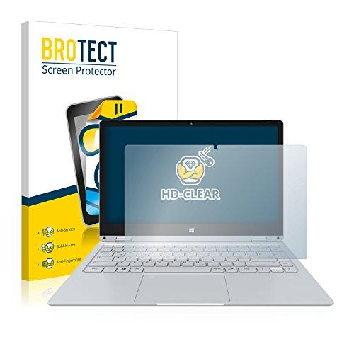 BROTECT Schutzfolie kompatibel mit TrekStor Primebook C13 klare Bildschirmschutz-Folie