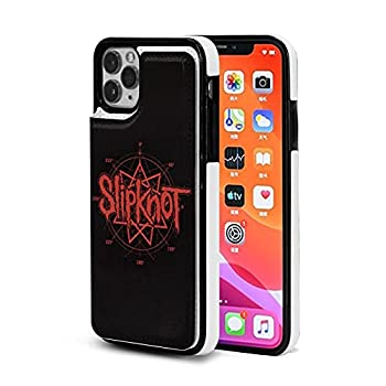 Slipk-not Logo The De-s Moin-ES iPhone 11 Pro/11/11 Pro Max Wallet Case with Card Holder,PU Leather Double Magnetic Clasp Shockproof Cover