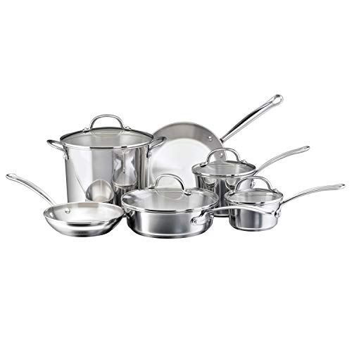 Farberware Millennium Stainless Steel Cookware Pots and Pans...