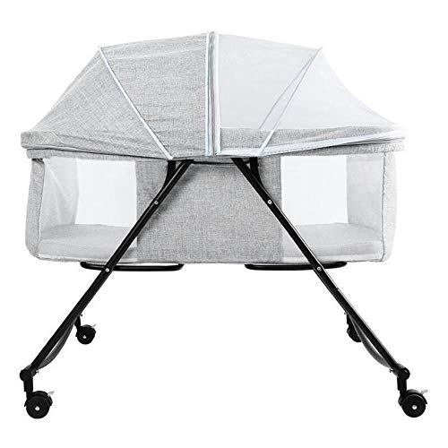 Best Prices! DaPeng Cot Portable Child Baby Bed Crib Bed Baby with Mosquito Nets Multifunctional Mat...