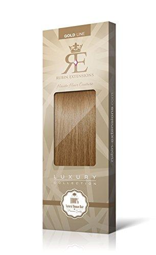 Extensions Cheveux Humains   Extensions de cheveux Frange   Cheveux Bangs Extensions   100% Remy Cheveux Brun Clair Caramel par Rubin Extensions