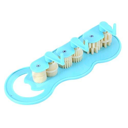 Papier-Crimpzange,45 * 21,5 * 12mm Kunststoffe Papier Quilling Crimper Tool Herstellung Crimpwerkzeug für den Falten- und Welleneffekt von Quilling papercraft