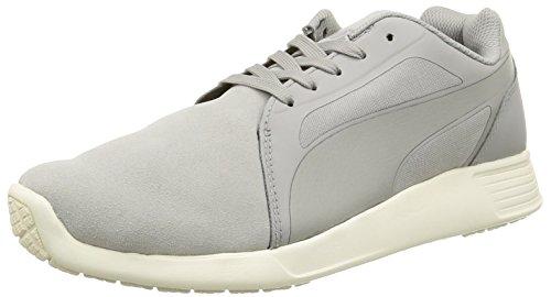 Puma ST Evo Suede - Chaussures de Course - Mixte Adulte - Gris (Drizzle/Drizzle) - 36 EU (3.5 UK)