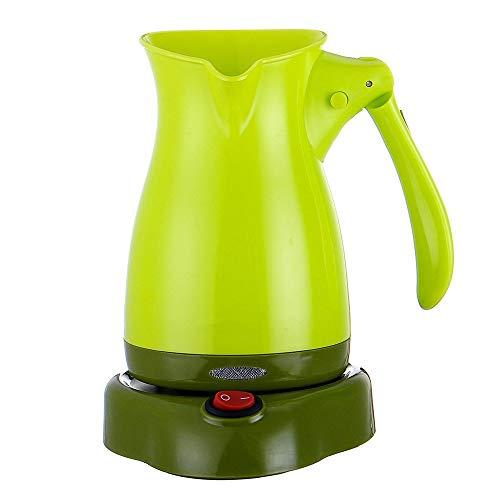 NEHARO Kaffeevollautomaten, Kaffeevollautomat, langlebig, 500 ml, elektrischer Kaffeemaschine, Kaffeemaschinen, Filter (Farbe: Grün, Größe: One Size)