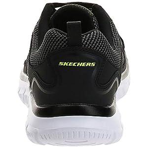 Skechers Sport Men's Track Bucolo Oxford,black/white,9 2E US