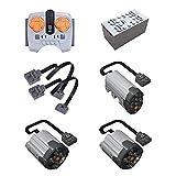 Myste Kit de motor de tecnología Power Function para Mercedes Benz Unimog U5000, 7 piezas, compatible con coches Lego Technic