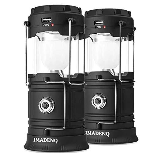 Lanterns, Camping Lantern, Solar Lantern Flashlights Charging for Phone, USB Rechargeable Led...