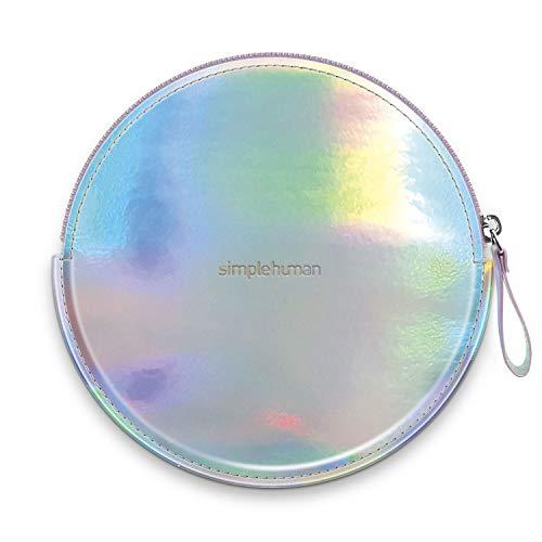 simplehuman Sensorspiegel kompakt Reißverschluss-Etui, regenbogenfarben