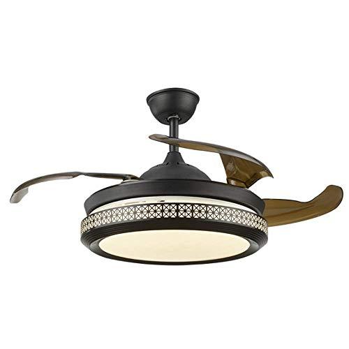 STZYY Lussuose lampade a Sospensione in Cristallo per Interni Kit luci per Ventilatore a soffitto Lampadario , Ventilatore a soffitto purificatore d'Aria con Illuminazione Lampada a Sospensione a