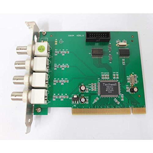 SATYCON Tarjeta VIDEOVIGILANCIA CCTV 4C PCI-4125 TW6801