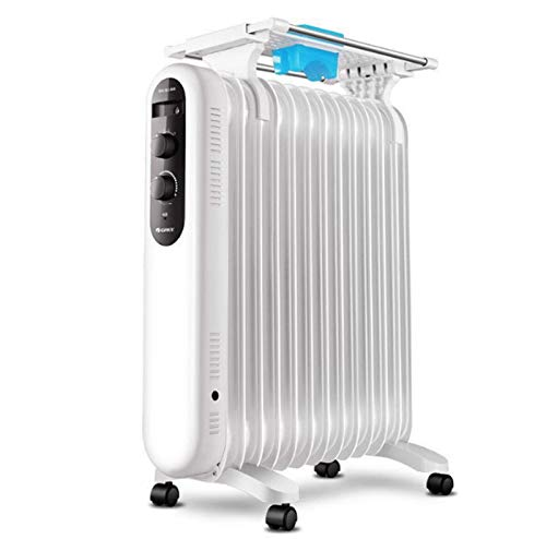 BAODI Oil Filled Radiator Oil-Filled Radiator Space Heater Quiet 3000W Adjustable Thermostat 3 Heat Settings, Energy Saving Perfect for Home Or Office