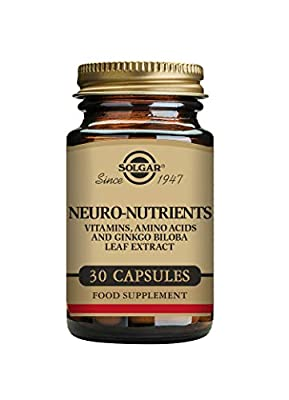 Solgar Neuro-Nutrients Vegetable Capsules - Pack of 30