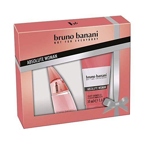 Bruno Banani Duftset Absolute Woman Eau de Toilette 20ml + Showergel 50ml, 1er Pack (1 x 70 ml)