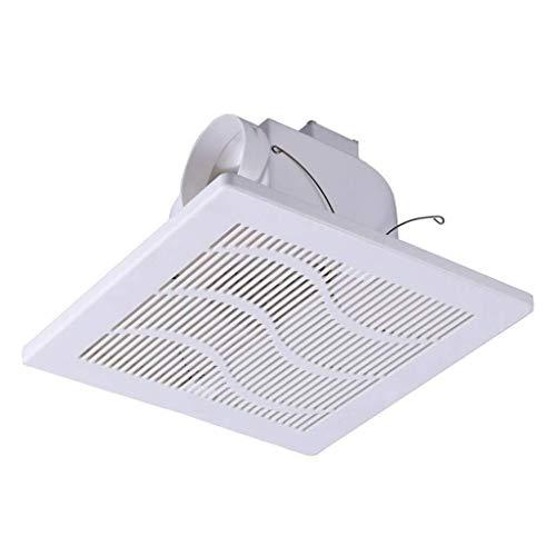 Ventilador de ventilación doméstico 12 Pulgadas Extintor, Máxima, Conveniente For Baño/Cocina/Sala De Estar/Dormitorio/Oficina/Compras LITING