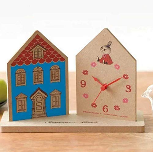 リンネル2020年3月号増刊付録MOOMIN×Samansa Mos2ムーミンムーミンハウス型置き時計セブンイレブンセブンネット