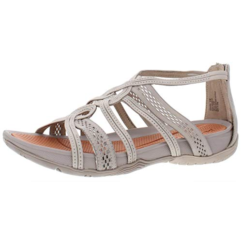 BareTraps Womens Solaura Fabric Open Toe Casual Strappy