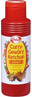 Hela Curry Gewurz Ketchup Scharf Hot Hela Wurzung from Germany 300 ml