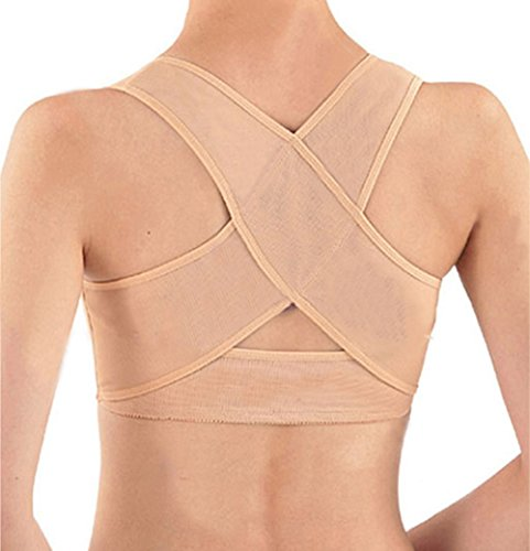 Personal Posture Corrector With Breathable Silky Weave- Tan (Medium...