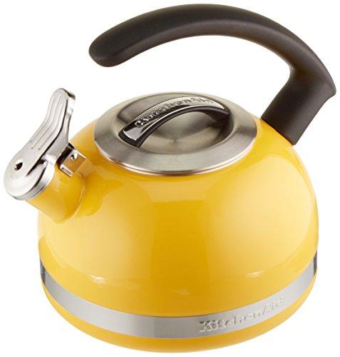 KitchenAid 2.0-Quart Kettle with C Handle and Trim Band - Citrus Sunrise