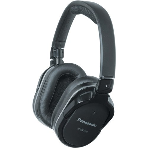 Panasonic RPHC720K Over-Ear Headphones, Black (Discontinued by Manufacturer)