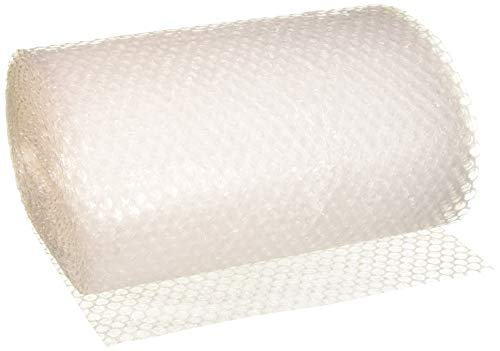 """TOTALPACK Packaging Air Bubble Cushioning Wrap Roll For Safe & Secure Packing-3/16"""" Heavy-Duty & Reliable Air Bubble Cushioning Wrap, Easy-To-Tear 12"""" Clear Sheets For Smaller Fragile Items -30ft Roll"""