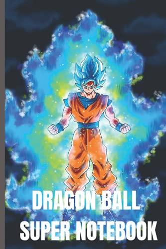 """DRAGON BALL SUPER NOTEBOOK: GOKU SSJ BLEU NOTEBOOK ● 120 LINED PAGES, 6"""" x 9""""●"""
