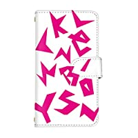 スマ通 Galaxy A30 SCV43 国内生産 ミラー スマホケース 手帳型 SAMSUNG サムスン ギャラクシー エーサーティ 【2-ピンク】 アルファベット q0004-e0260