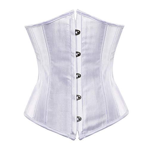 Enheng-SSY plus size corsetto sexy underbust bodyshaper costumi corsetti bustier donna burlesque corselet rosso blu nero rosa