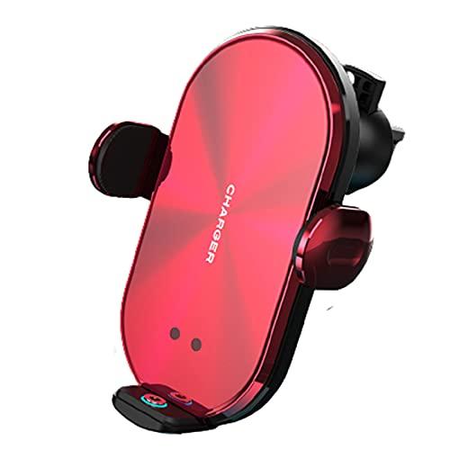 Soporte Movil TeléFono Coche Universal Universal Inalámbrico Carga Magnética Sensor Infrarrojo Inteligente Accesorios para Automóvil,Red