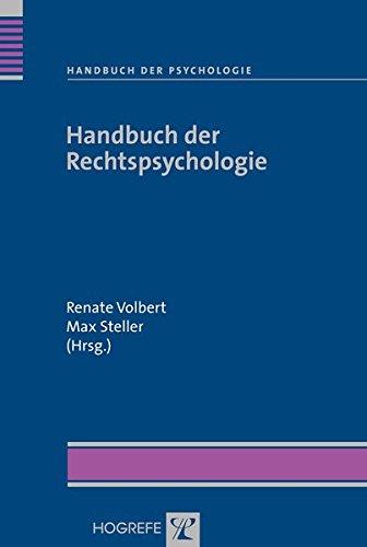 Handbuch der Rechtspsychologie (Handbuch der Psychologie)