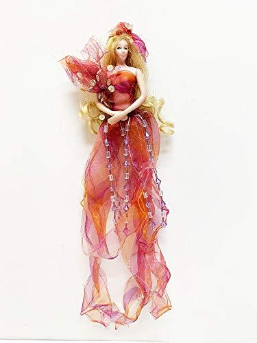 Sheer Fantasy Show Stoppers Hanging Porcelain Doll Figurine