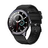 Smartwatch,1,3 Zoll Armbanduhr mit personalisiertem Bildschirm, Musiksteuerung, Herzfrequenz,...