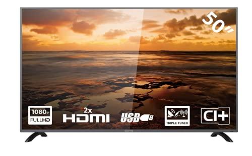 YASIN SCEPTR X50 50 inch (Full-HD, Triple Tuner, CI+, 2X HDMI, USB)