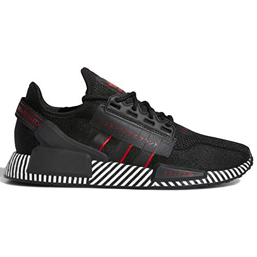 adidas Originals NMD R1 V2 Mens Casual Running Shoe Fy2104 Size 8 Black/Scarlet/White