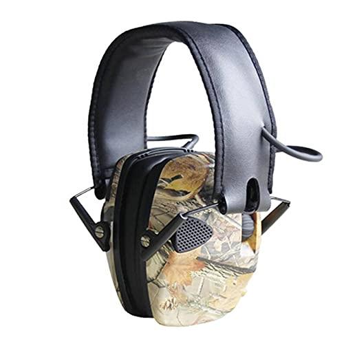 Orejeras insonorizadas, orejeras electrónicas, micrófono único, orejeras, protección auditiva y reemplazo para...