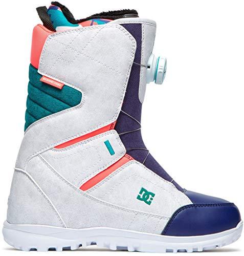 DC Search Boa Snowboard Boot White Camo 9.5