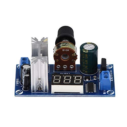 ROSEBEAR LM317 Verstellbarer Spannungsregler, Netzteilplatine, digitale Spannungsanzeige, Spannungsregler-Modul