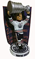 Wayne Gretzky Edmonton Oilers Banner Bobblehead