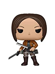 From Attack on Titan, Ymir, as a stylized POP vinyl from Funko! Stylized collectable stands 3 ¾ inches tall, perfect for any Attack on Titan fan! Collect and display all Attack on Titan POP! Vinyls! Funko POP! is the 2017 Toy of the Year and People's...