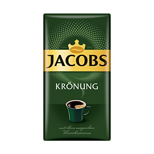 Jacobs Filterkaffee Krönung Klassisch, gemahlener Kaffee, 12er Pack (12 x 500 g)