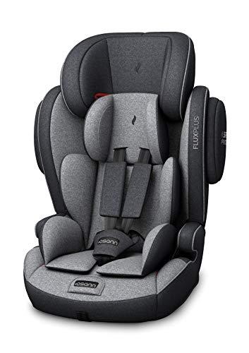 Osann Kinderautositz Flux Plus Gruppe 1/2/3 (9-36 kg), Autositz Universe Grey