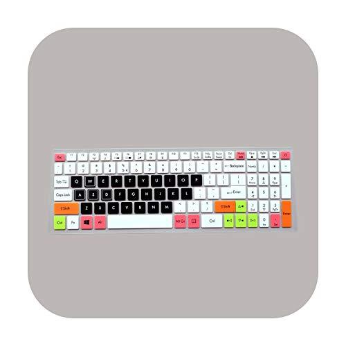 Funda protectora para teclado Acer NITRO 5 AN515-52 AN515 AN5 VX 15 VX5-591G V 17 Gaming VN7-793G 17.3 Candyblack