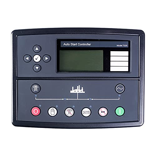 LHSJYG Controlador De Motor,Controladores De Velocidad D Controlador de autoengestión del generador Diesel (Size : 1)
