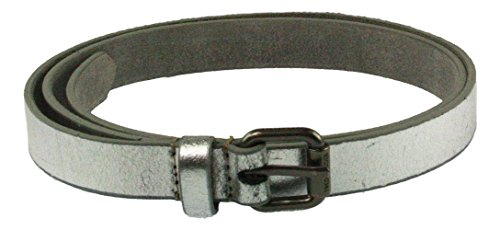 FREDsBRUDER | Small Belt | Gürtel - metallic silber, Farbe:silber;Größe:95