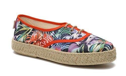 Pare Gabia - Lotus, Baskets Mode Femme - Orange (Multico/Orange) (40 EU)