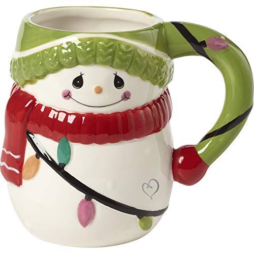 Precious Moments 191423 Snowman Mug, One Size, Multi
