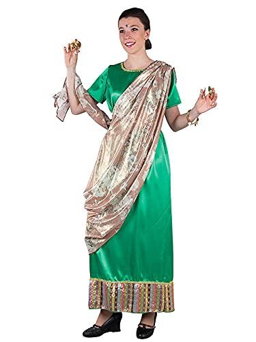 DISBACANAL Disfraz hindú para Mujer -