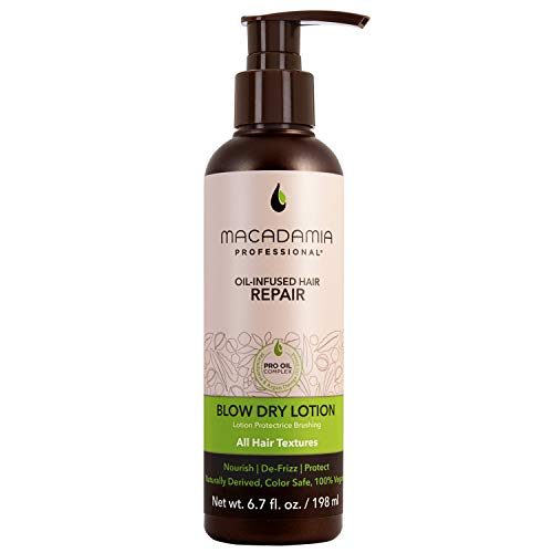 Macadamia Blow Dry Lotion Thermo- Protecteur 198ml