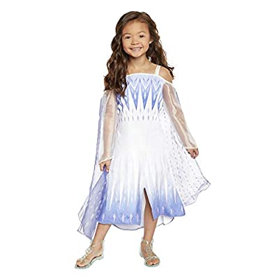 Frozen 2 Elsa Epilogue Dress for Girls, New Movie Princess Dress Up Costume for Halloween Christmas Party, Outfit Fits Sizes 4-6X - for Girls Ages 3, 4, 5 & 6